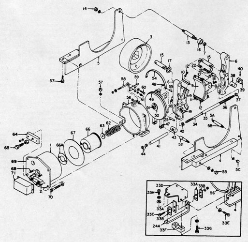 """GE 10"""" A101 IC9528 Brake"""