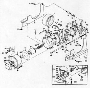"GE 13"" A102 IC9528 Brake Diagram"