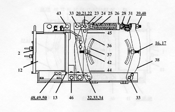 "EC&M 5010 8"" Type F, Series A Diagram"