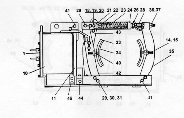 "EC&M 5010 13"" Type F, Series B Diagram"