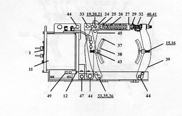 "EC&M 5010 19"" Type F, Series A"