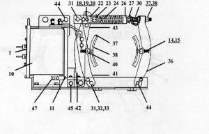 "EC&M 5010 23"" Type F, Series A Diagram"