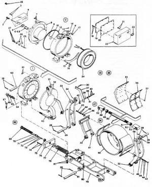 "EC&M 5010 30"" WB Brake Folio 6 Diagram"