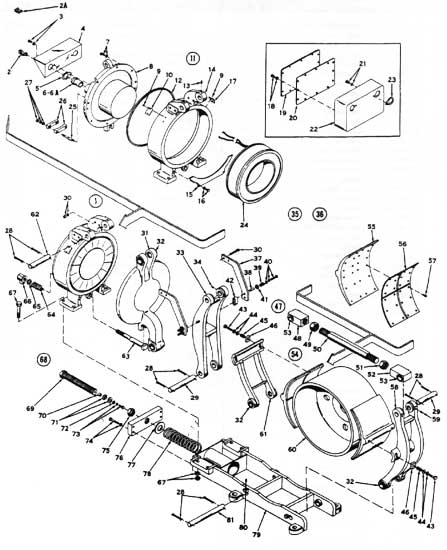 "EC&M 5010 30"" WB Brake Folio 6 Diagram"