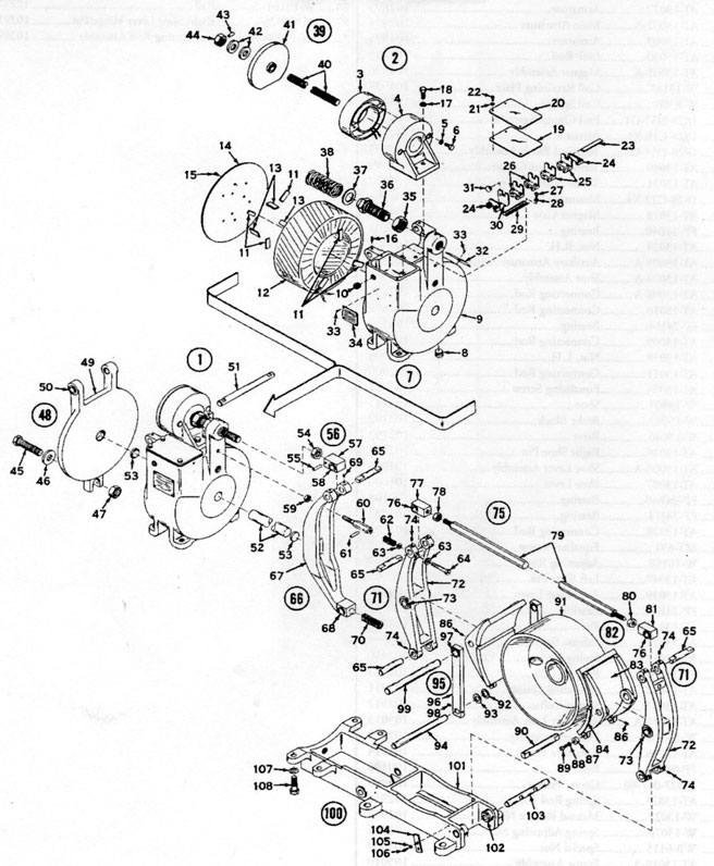 "EC&M 5060 16"" Adjustable Torque Diagram"