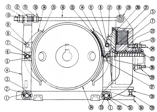 Cutler-Hammer 503 Series Brake Diagram