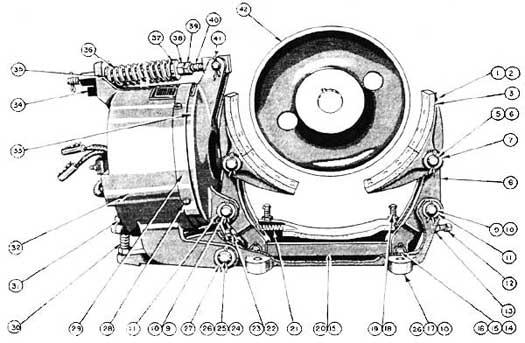 EC&M No.22 Type WB Brake Folio 1 Diagram