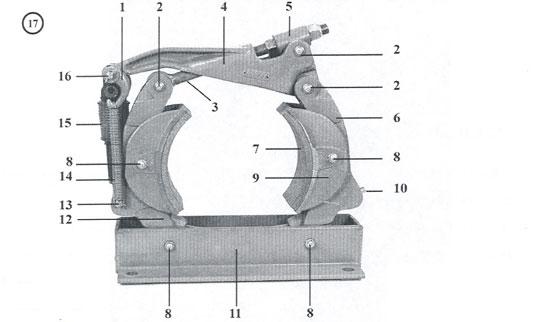 10 x 4 Type H Drum Brakes - New Style