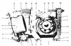 "Westinghouse TM Brakes 4"" and 6"" Diagram"