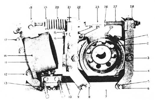 "Westinghouse TM Brakes 4"" and 6"" Diagram"