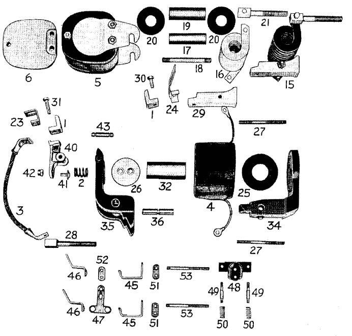 D.C. Magnetic Contactor Form 150-4RD Diagram
