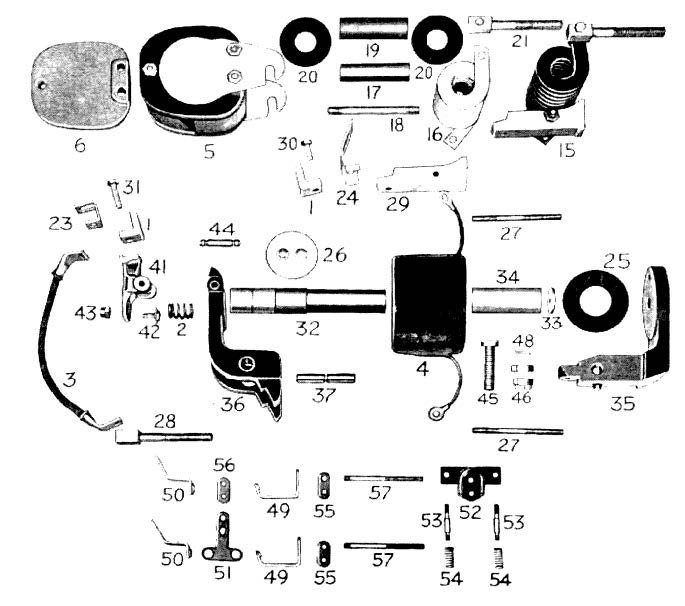 D.C. Magnetic Contactor Form 300-4RT Diagram