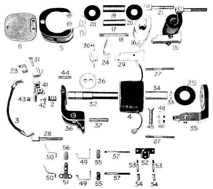 D.C. Magnetic Contactor Form 400-4RT Diagram