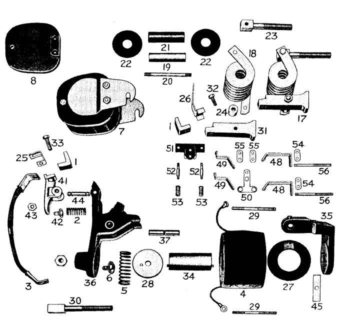 D.C. Magnetic Contactor Form 400-5RS Diagram