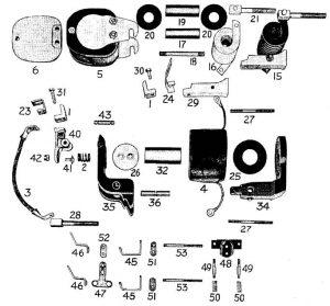D.C. Magnetic Contactor Form 600-4RD Diagram