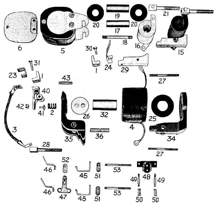D.C. Magnetic Contactor Form 900-4RD Diagram