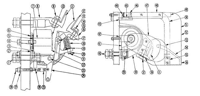 545-600 Amp DC Contractor