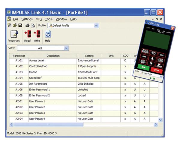 Impulse Link 4.1 Software