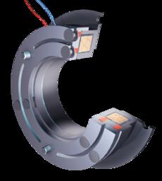 Pole-face friction brake MFK/MWU-B