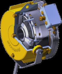 Spring-applied brake HPI
