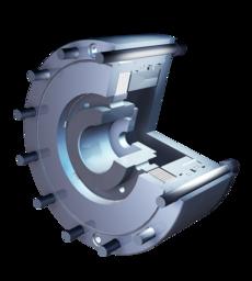 Spring-applied multi-disc brake KMB/KLB
