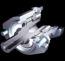 Spring-applied multi-disc brake KMB-ZM/KLB-ZM